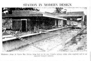 Building Railway station 1 1939